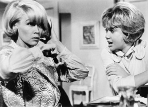 "Dorothy Provine and Hayley Mills in ""That Darn Cat""1965 Buena Vista** B.D.M. - Image 24293_2612"