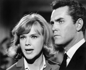 "Anne Francis and Jeffrey Hunter in ""Brainstorm""1965 Warner Bros.** B.D.M. - Image 24293_2618"