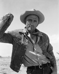 """Kirk Douglas in """"Lonely Are the Brave""""1962 Universal** B.D.M. - Image 24293_2655"""