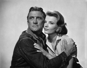 """Kirk Douglas and Gena Rowlands in """"Lonely Are the Brave""""1962 Universal** B.D.M. - Image 24293_2656"""