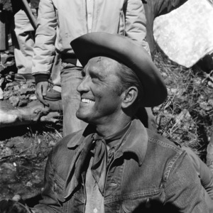 """Kirk Douglas on the set of """"Lonely Are the Brave""""1962 Universal** B.D.M. - Image 24293_2659"""