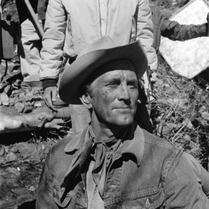 """Kirk Douglas on the set of """"Lonely Are the Brave""""1962 Universal** B.D.M. - Image 24293_2660"""