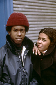 "Kevin Hooks and Irene Cara in ""Aaron Loves Angela""1975 Columbia** B.D.M. - Image 24293_2662"
