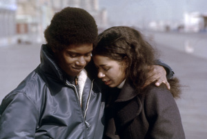 "Kevin Hooks and Irene Cara in ""Aaron Loves Angela""1975 Columbia** B.D.M. - Image 24293_2663"