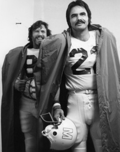 "Kris Kristofferson and Burt Reynolds in ""Semi-Tough""1977 United Artists** B.D.M. - Image 24293_2699"