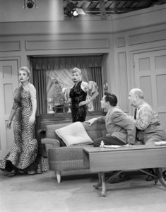 """I Love Lucy""(Episode #81: ""The Charm School"")Vivian Vance, Lucille Ball, Desi Arnaz, William Frawley1954** B.D.M. - Image 24293_2777"