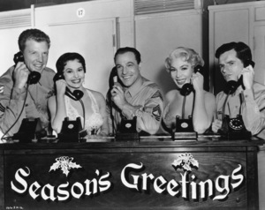 """Dan Dailey, Cyd Charisse, Gene Kelly, Dolores Gray and Michael Kidd in """"It"""