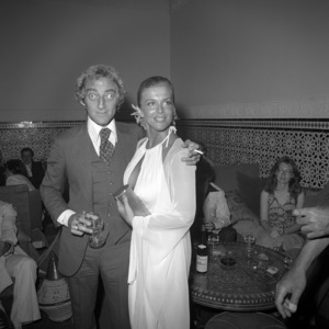 "Marty Feldman and Ann-Margret at a party promoting ""The Last Remake of Beau Geste""1977 Universal** B.D.M. - Image 24293_2898"