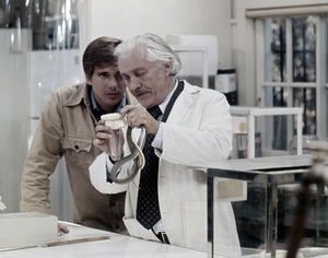 """Dirk Benedict and Strother Martin in """"Sssssss""""1973 Universal** B.D.M. - Image 24293_2914"""