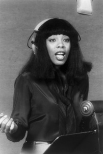 """Donna Summer recording the theme from """"The Deep"""" (""""Down Deep Inside"""") 1977** B.D.M. - Image 24293_3023"""