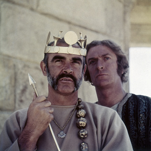 "Sean Connery and Michael Caine in ""The Man Who Would Be King""1975 Allied Artists Pictures** B.D.M. - Image 24293_3030"