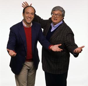 Gene Siskel and Roger Ebertcirca 1989© 1989 Mario Casilli - Image 24295_0003