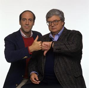 Gene Siskel and Roger Ebertcirca 1989© 1989 Mario Casilli - Image 24295_0004