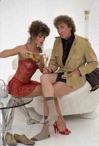 Kelly LeBrock and Gene Wilder1984© 1984 Mario Casilli - Image 24297_0006