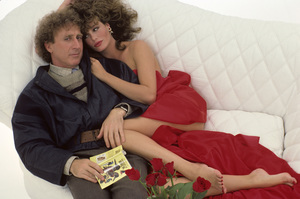 Kelly LeBrock and Gene Wilder1984© 1984 Mario Casilli - Image 24297_0007