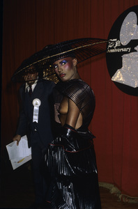 "Grace Jones at ""The 25th Annual Grammy Awards""February 23, 1983© 1983 Gary Lewis - Image 24300_0009"