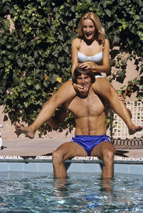 Bruce Jenner and Chrystie Jennercirca 1970s© 1978 Gary Lewis - Image 24300_0020