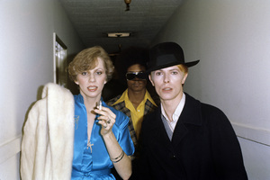 Angie Bowie and David Bowie1976© 1978 Gary Lewis - Image 24300_0043