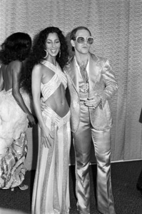 Diana Ross, Cher and Elton John at the Rock Music Awards1975© 1978 Gary Lewis - Image 24300_0063