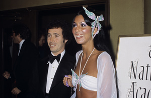 """The 46th Annual Academy Awards""David Geffen, CherApril 2, 1974© 1978 Gary Lewis - Image 24300_0065"