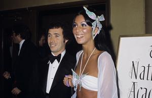 """The 46th Annual Academy Awards""David Geffen, CherApril 2, 1974© 1978 Gary Lewis - Image 24300_0065"