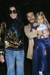 Cher, David Geffen and Chastity Bonocirca 1975© 1978 Gary Lewis - Image 24300_0068