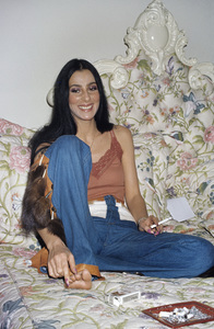Cher at home in Beverly Hills, CA1977© 1978 Gary Lewis - Image 24300_0069