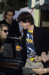Jerry Hall and Mick Jaggercirca 1980s© 1980 Gary Lewis - Image 24300_0071