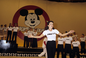 Annette Funicello with The Mickey Mouse Clubcirca 1980© 1980 Gary Lewis - Image 24300_0079