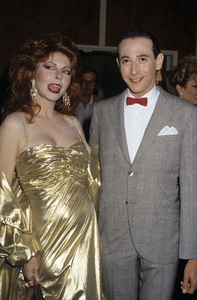 Cassandra Peterson and Pee-wee Hermancirca 1980s© 1980 Gary Lewis - Image 24300_0092