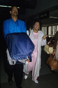 Stedman Graham and Oprah Winfreycirca 1986© 1986 Gary Lewis - Image 24300_0124