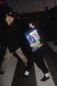 Johnny Depp and Winona Rydercirca 1990© 1990 Gary Lewis - Image 24300_0132