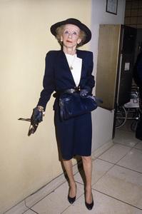 Bette Daviscirca 1987© 1987 Gary Lewis - Image 24300_0151