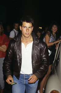Tom Cruise at Sean Penn