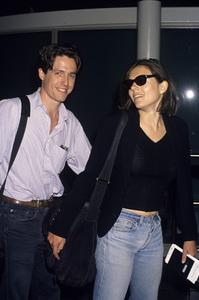Hugh Grant and Elizabeth Hurleycirca 1987© 1987 Gary Lewis - Image 24300_0158