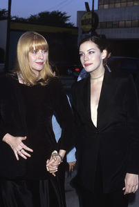 Liv Tyler and her mother Bebe Buell1996© 1996 Gary Lewis - Image 24300_0198