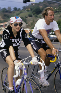 Madonna and personal trainer Rob Parr1988© 1988 Gary Lewis - Image 24300_0207