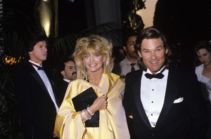 Goldie Hawn and Kurt Russellcirca 1985© 1985 Gary Lewis - Image 24300_0219