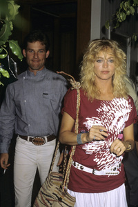 Kurt Russell and Goldie Hawn1983© 1983 Gary Lewis - Image 24300_0229