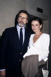 Robert Wolders and Audrey Hepburncirca 1988© 1988 Gary Lewis - Image 24300_0250