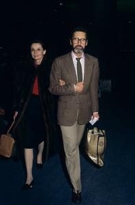 Audrey Hepburn and Robert Wolderscirca 1988© 1988 Gary Lewis - Image 24300_0251