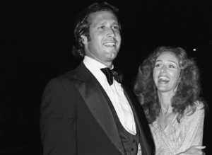 Chevy Chase and Jacqueline Carlincirca 1976© 1978 Gary Lewis - Image 24300_0260