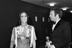 Cher and James Caancirca 1974© 1978 Gary Lewis - Image 24300_0265