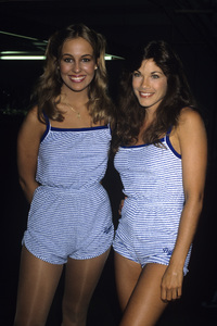 Genie Francis and Barbi Bentoncirca early 1980s© 1980 Gary Lewis - Image 24300_0327