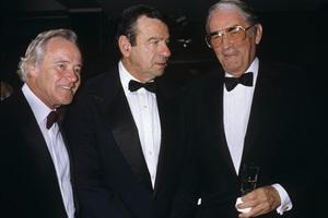 Jack Lemmon, Walter Matthau and Gregory Peckcirca 1986© 1986 Gary Lewis - Image 24300_0328