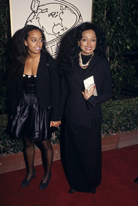"""""""The 52nd Annual Golden Globe Awards""""Diana Ross and her daughter ChudneyJanuary 21, 1995© 1995 Gary Lewis - Image 24300_0338"""