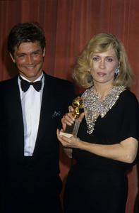 """The 42nd Annual Golden Globe Awards""Andrew Stevens, Faye DunawayJanuary 27, 1985© 1985 Gary Lewis - Image 24300_0350"