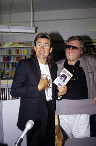 Davy Jones and Harry Nilssoncirca 1985© 1985 Gary Lewis - Image 24300_0354