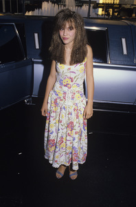 Alyssa Milanocirca 1985© 1985 Gary Lewis - Image 24300_0355