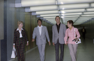 Dean Martin and Dick Martin at LAX (Los Angeles International Airport)circa 1975© 1975 Gary Lewis - Image 24300_0357